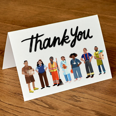 Essential Workers Thank You Cards (package of 5)