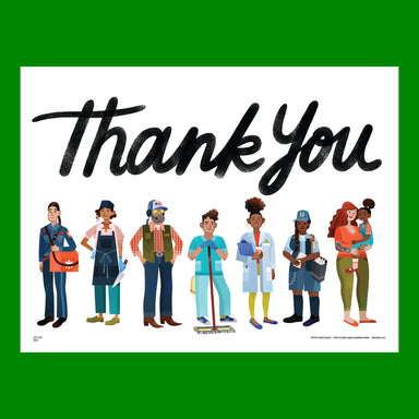 Pre-order: Essential Workers Thank You Yard Sign