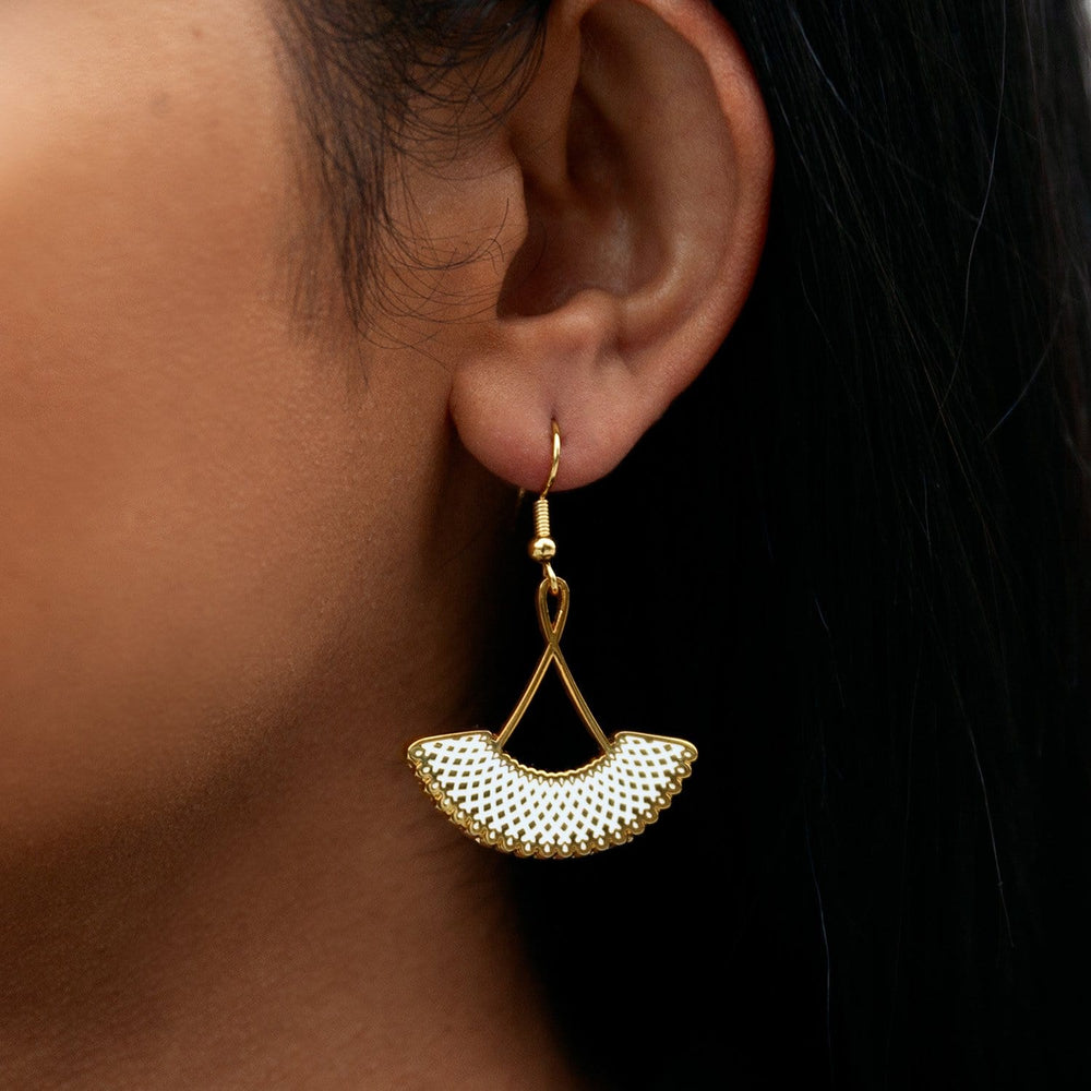 RBG's Favorite Collar Drop Earrings