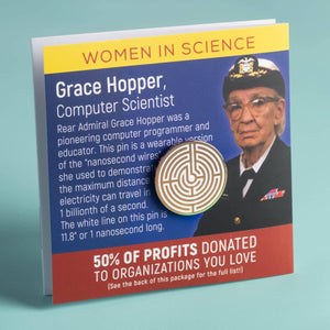 Grace Hopper / Nanosecond Pin