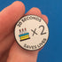 Happy Birthday Handwashing Pin