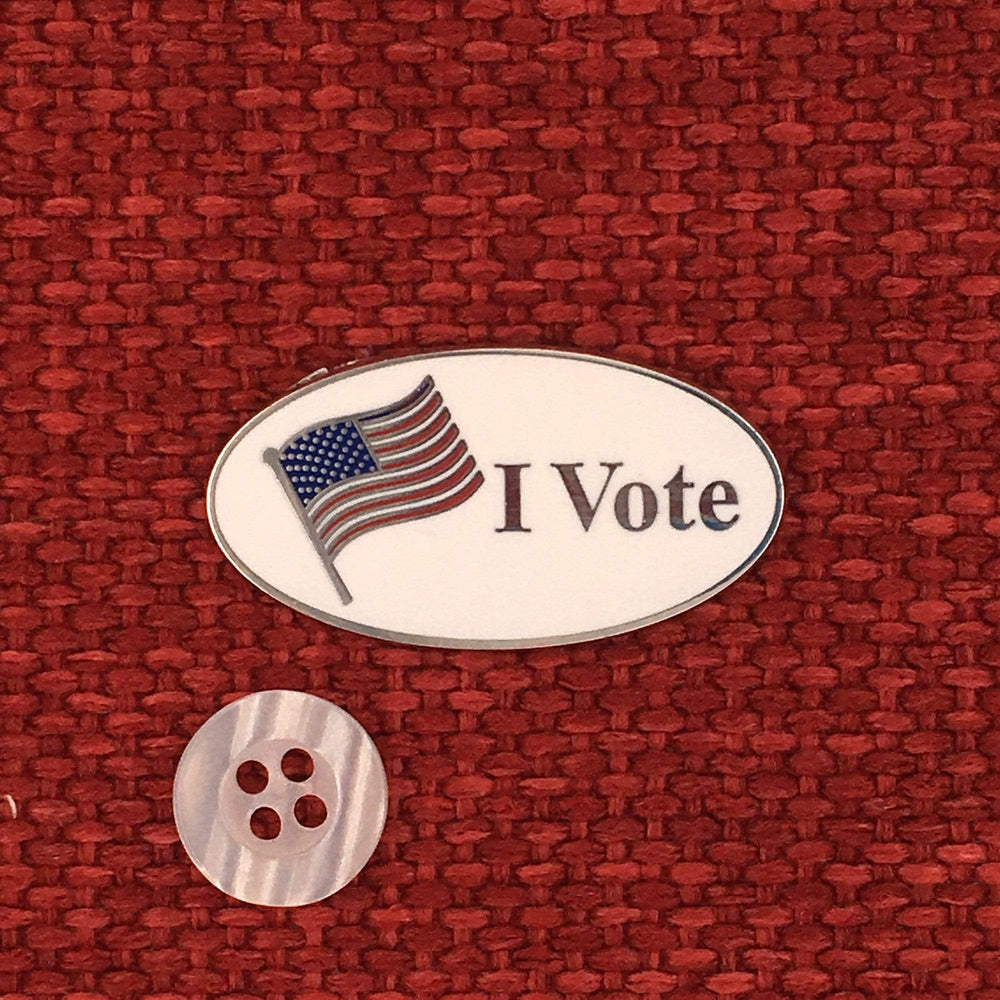 I Vote Mini Pin