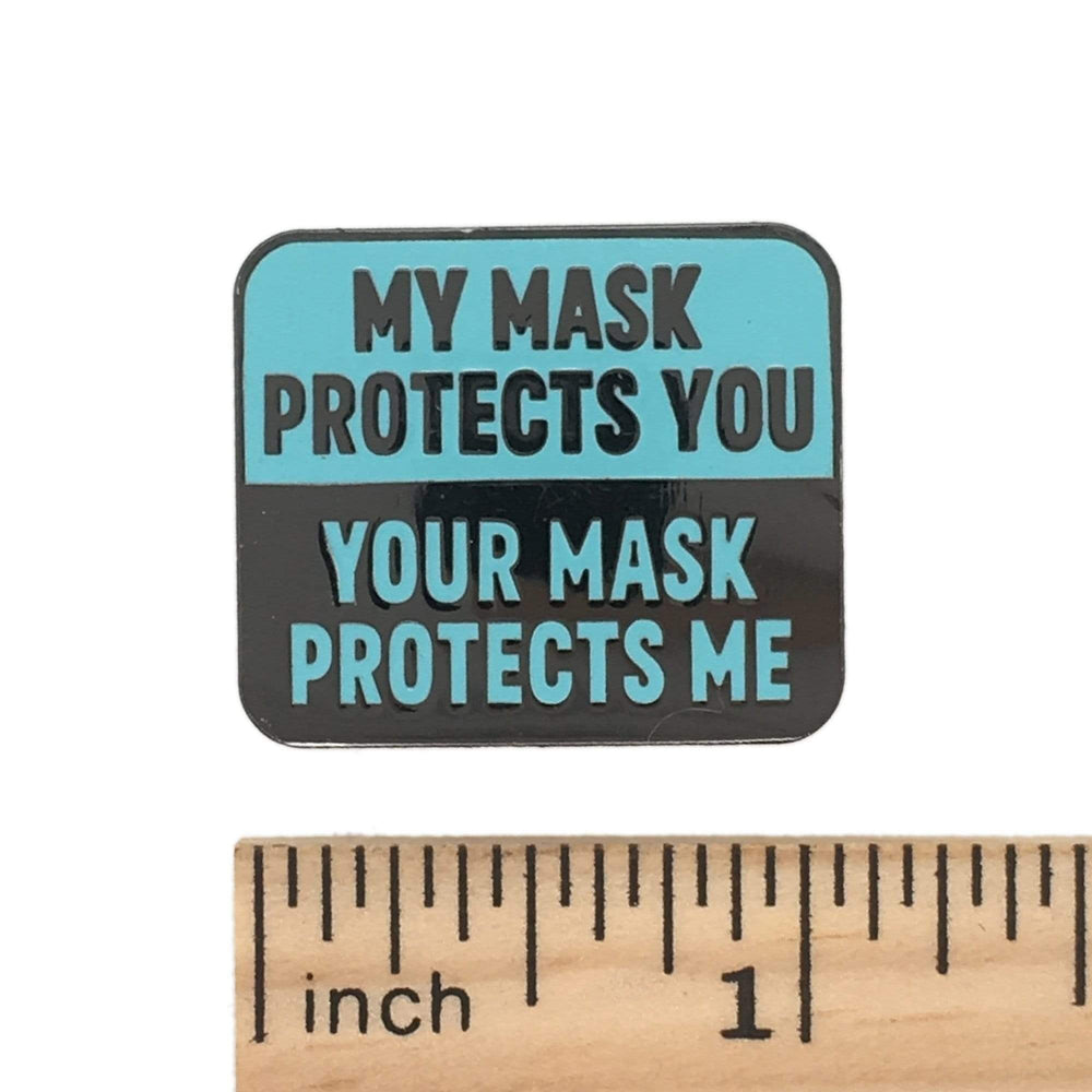 My Mask Protects You Magnet