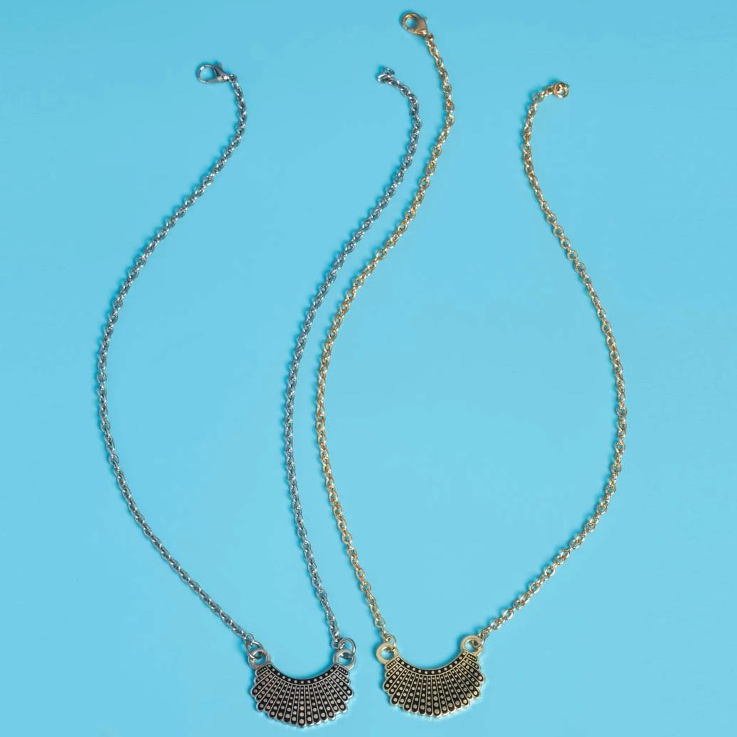 Dissent Collar Hoop and Charm + Necklace (set)