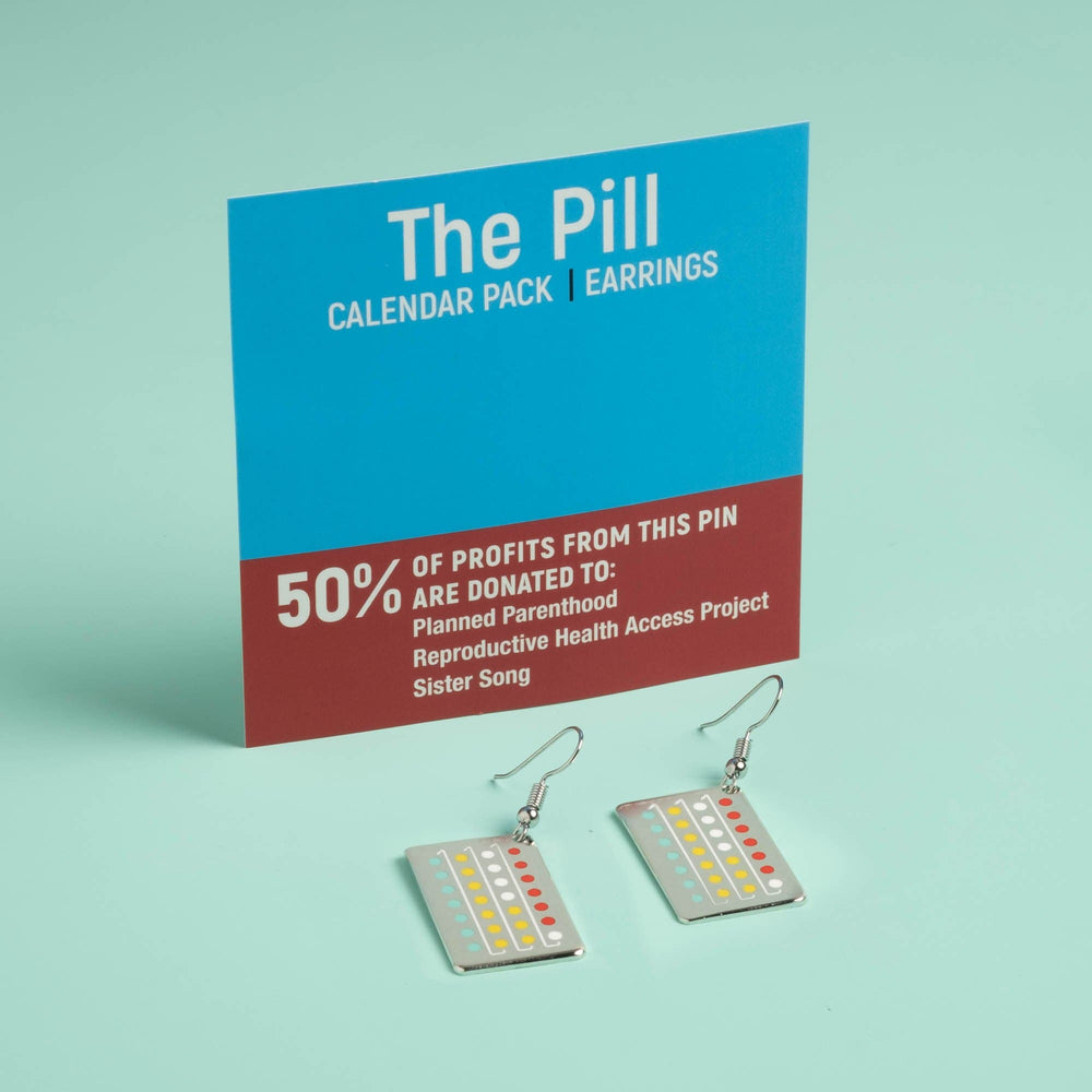 The Pill Earrings - Calendar Pack