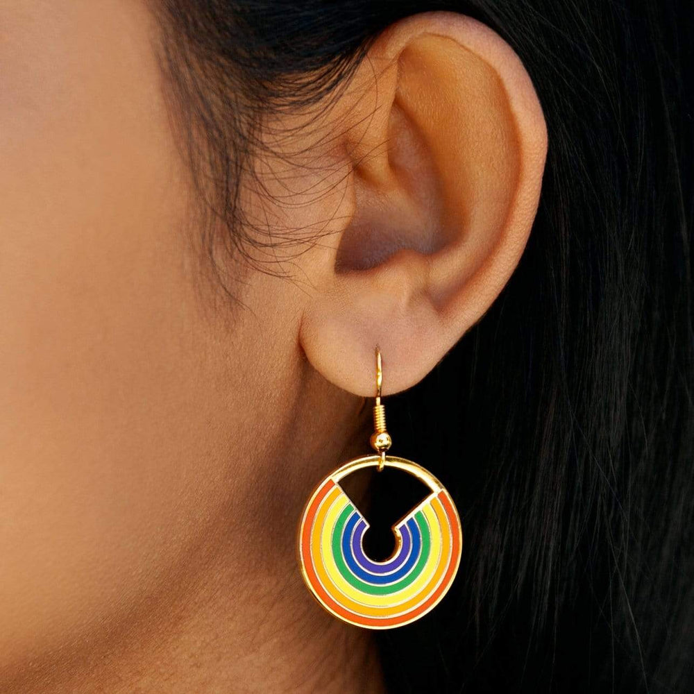 Pride Rainbow Drop Earrings