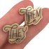Pronoun Cufflinks