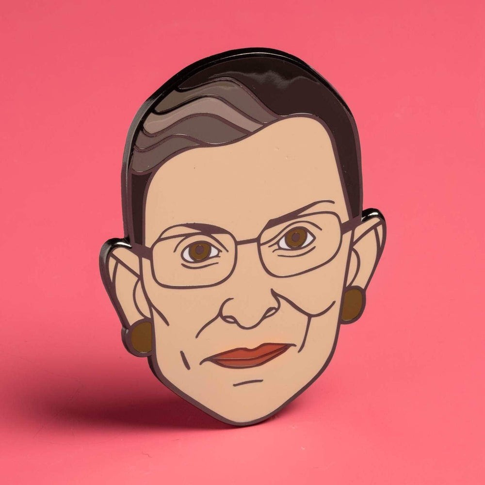 Vote ~ Ruth Bader G/_Insberg Round Badge Personality Button Buckle Pin Decoration 1pcs //5pc