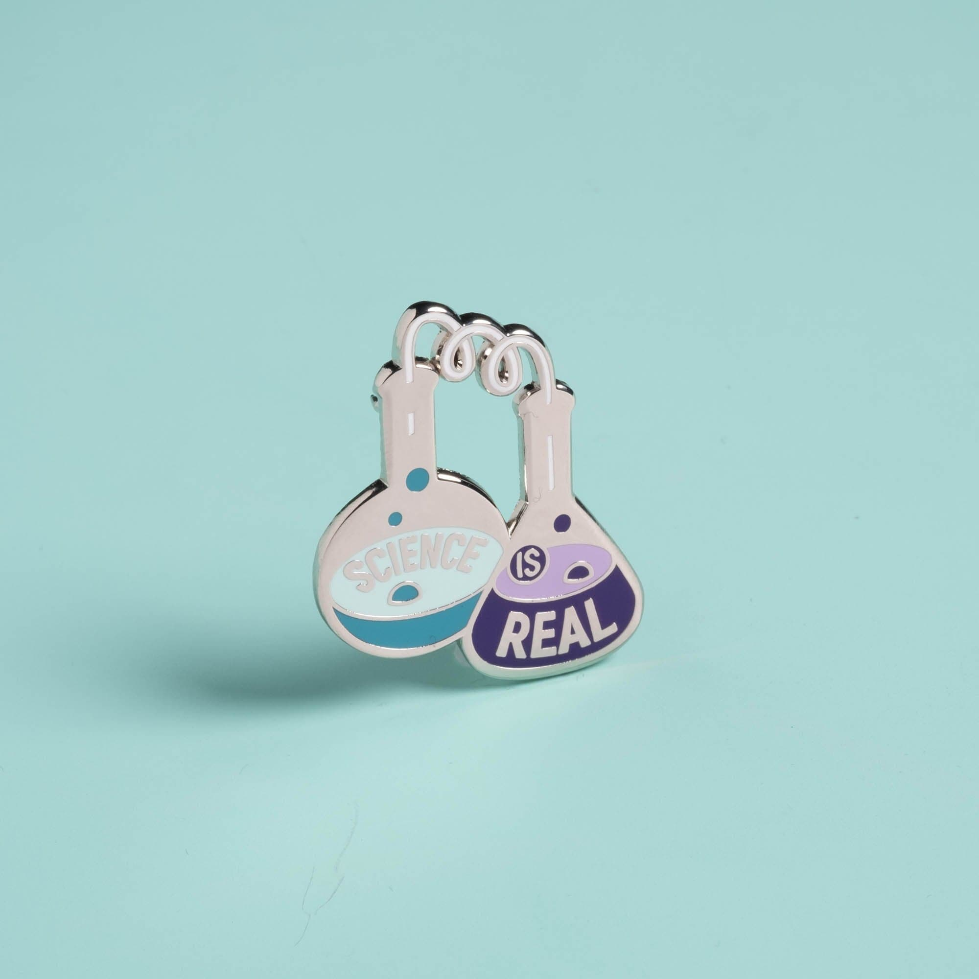 Science is Real Pins - Set of three