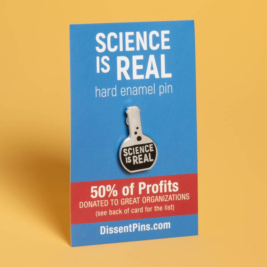 Science is Real Pin