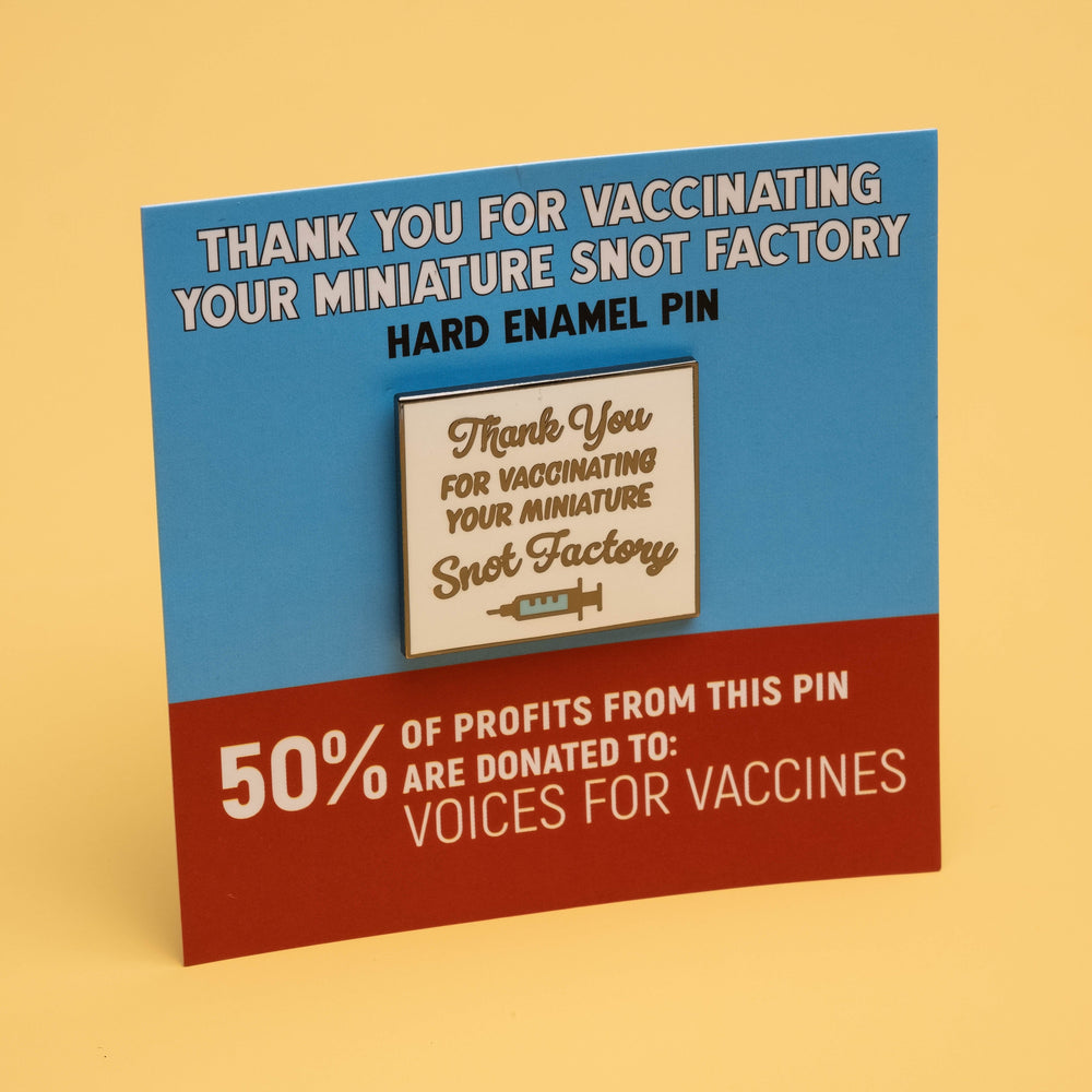 Thank You for Vaccinating Pin