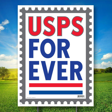 USPS Forever Yard Sign