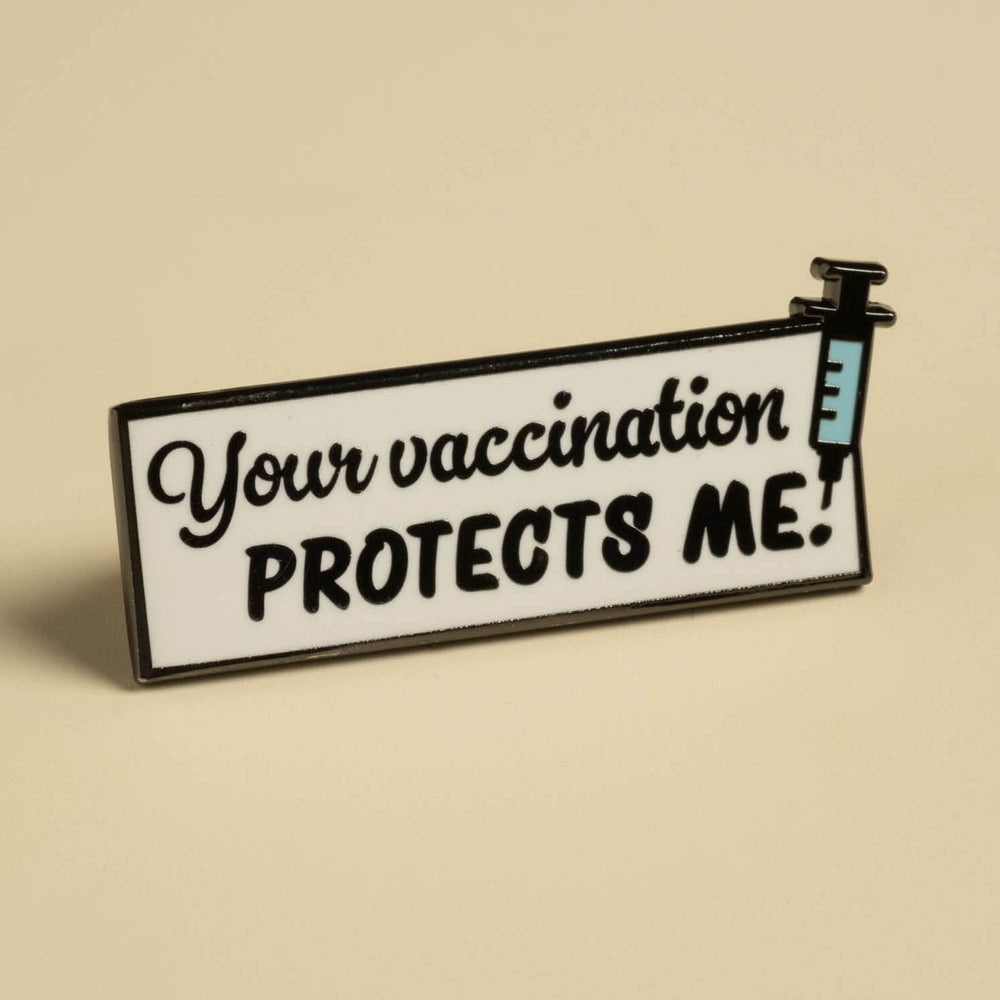 Vaccine Pins Set - get all five!