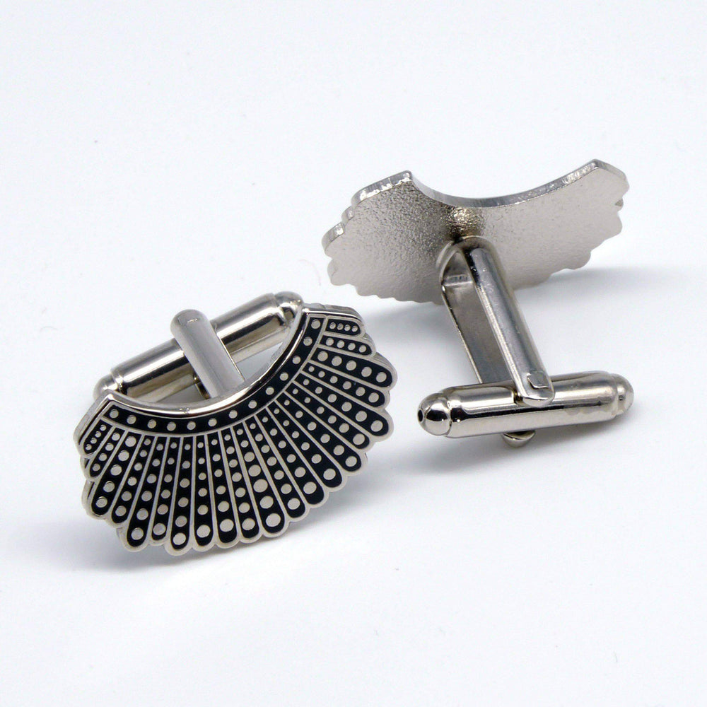 Dissent Collar Cufflinks and Tiebar set