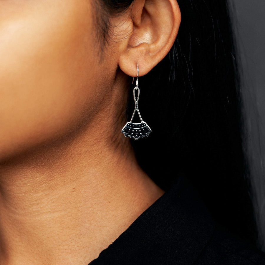 Dissent Collar Drop Earrings