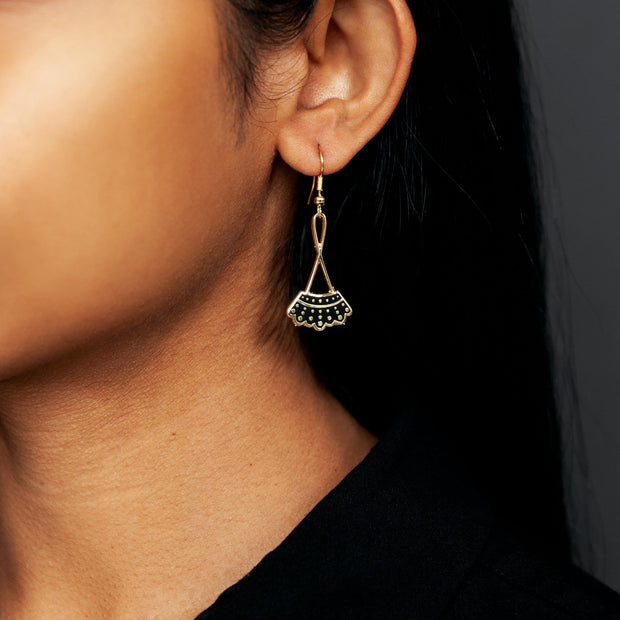 Dissent Collar Drop Earrings 1