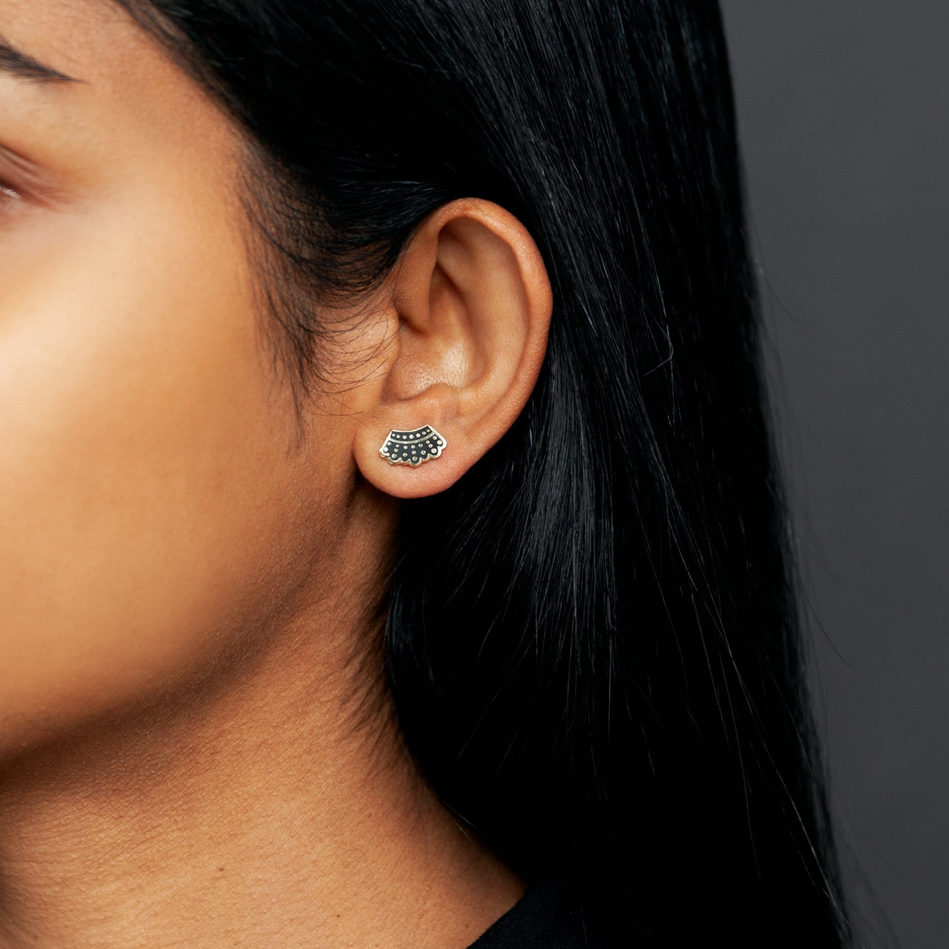 Dissent Collar Earrings