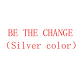 Stainless Steel Engraved Inspirational Bangle (COLOR:SILVER)