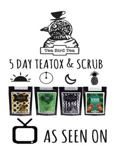 5 DAYS - TEATOX AND SCRUB