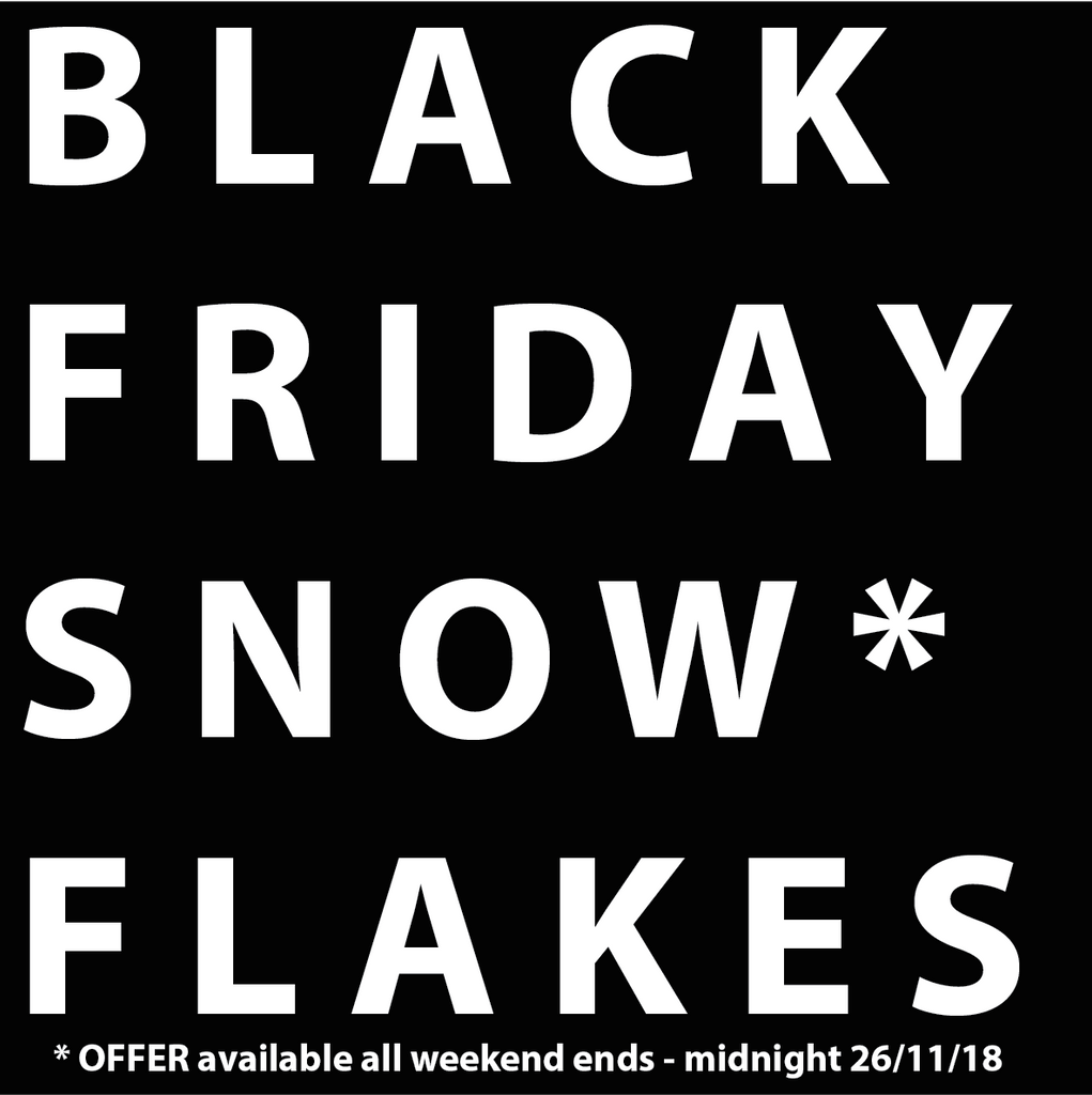 Black Friday Snowflakes from Tea Bird Tea