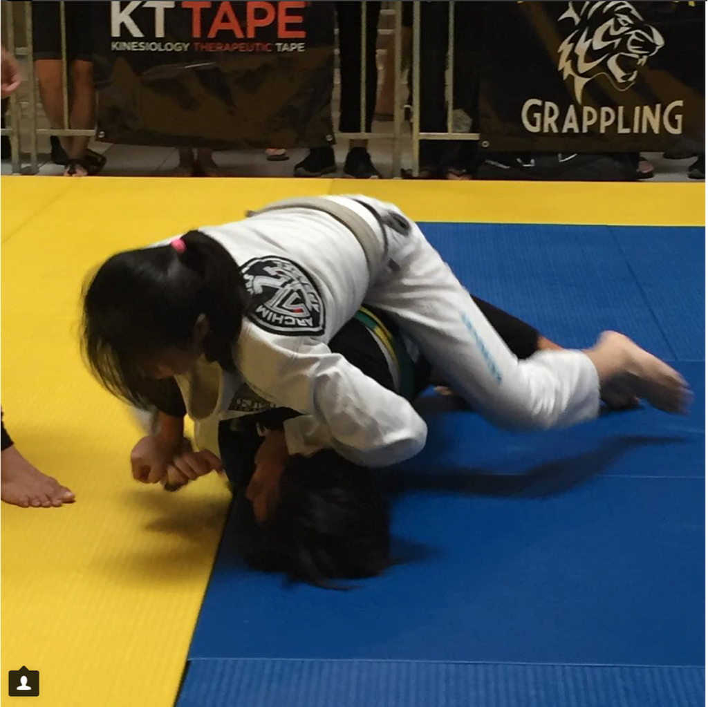 Cassandra J Poyong Blue Belt Competitor Singapore March 2018 - Quick Fire Q&A