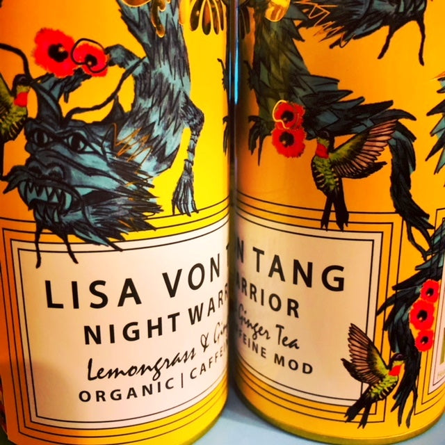 Exclusive Tea Bird Tea Morning, Noon and Night Warrior for Lisa Von Tang