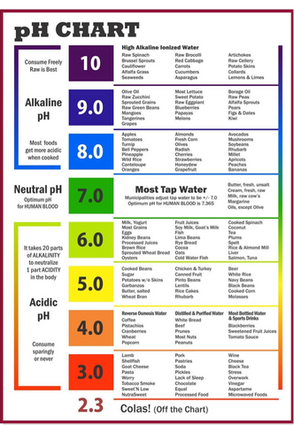Ph Levels for a healthy diet