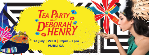 'Tea Party with Deborah Henry' @ Bens Publika