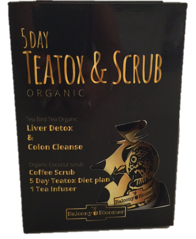 5 day teatox and scrub tea bird tea
