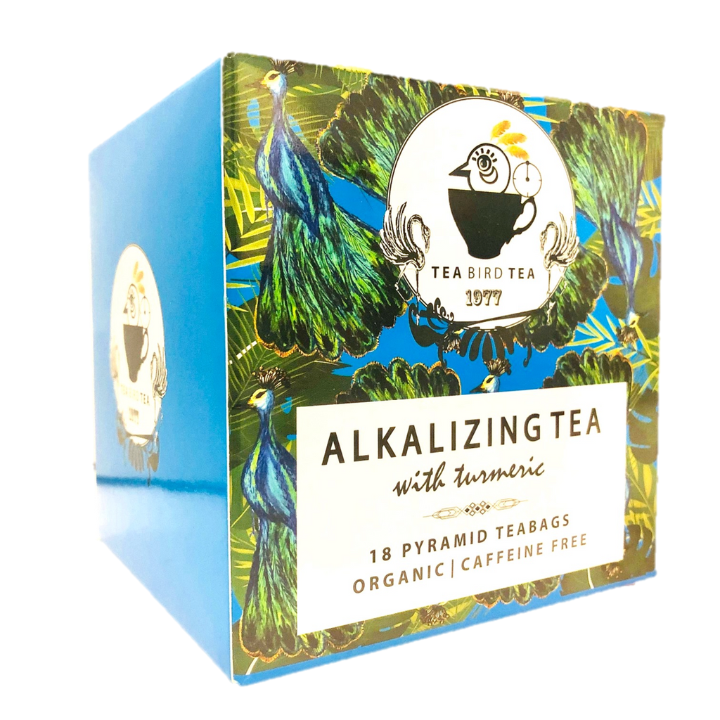 Alkalizing PH with Turmeric Organic Tea Bird Tea Case 12 Tins