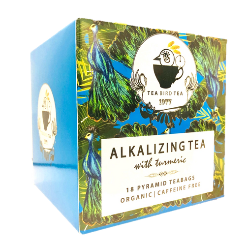Alkalizing PH with Turmeric Organic Tea Bird Tea Refills