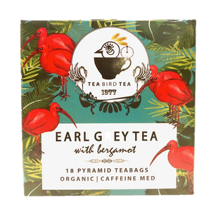 Earl Grey Organic Tea Bird Tea Loose Leaf 40g