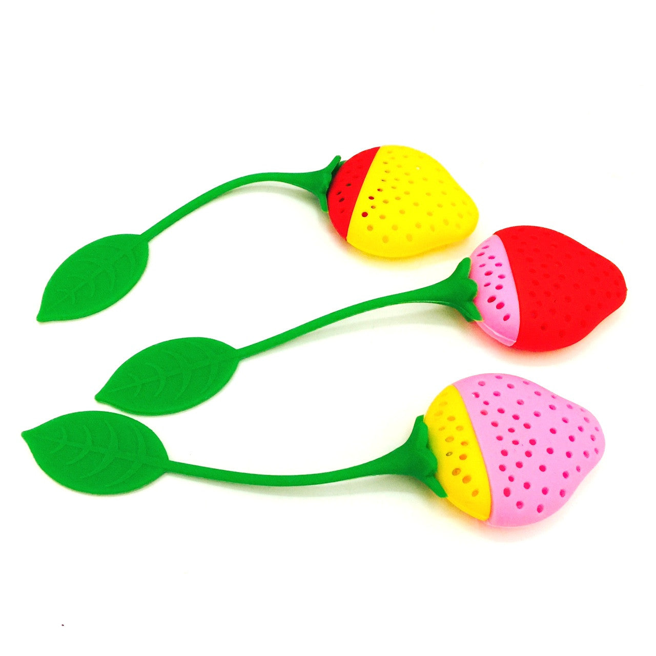 Multi coloured Tea infusers Mix & Match