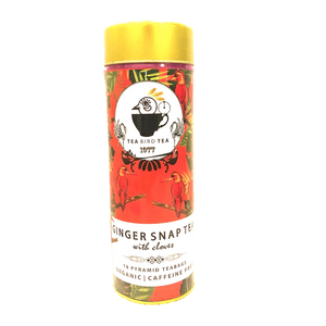 Ginger Snap Organic Tea Bird Tea Loose Leaf 40g
