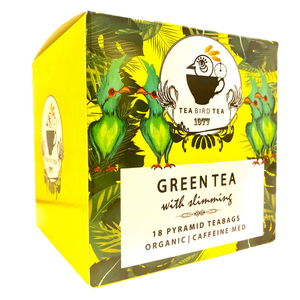 Slimming Green Organic Tea Bird Tea Case 12 Tins