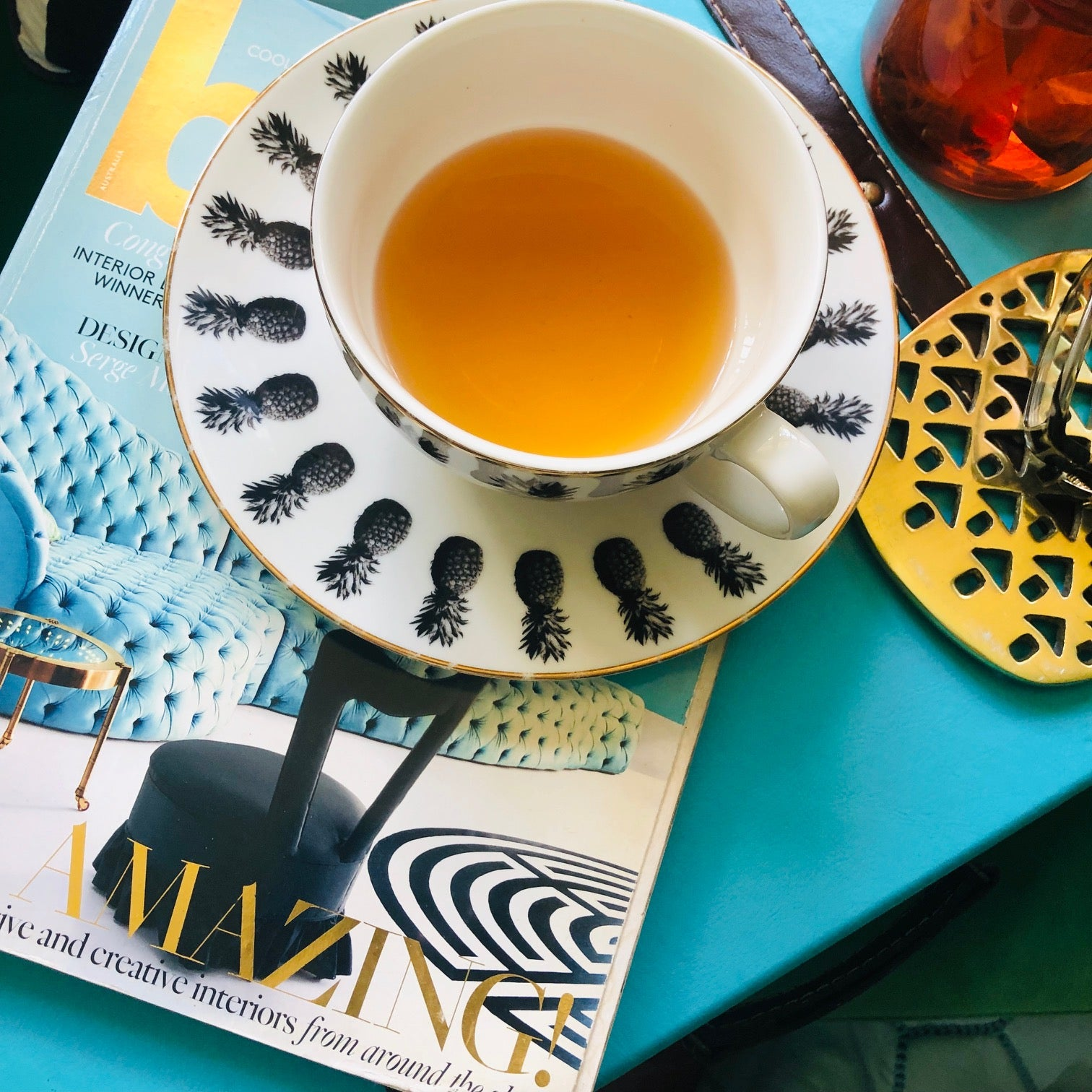 Alkalizing PH with Turmeric Organic Tea Bird Tea