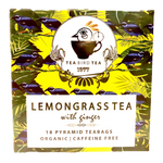 Lemon Grass & Ginger Organic Tea Bird Tea Loose Leaf 40g