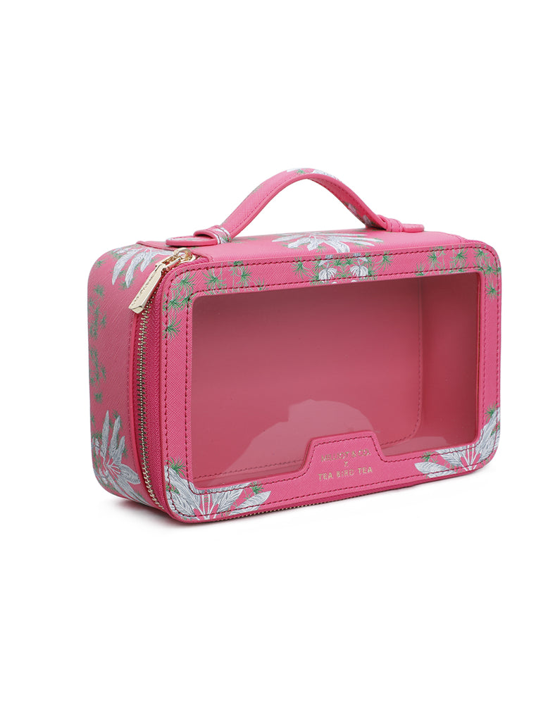 MILLIOT  & CO  X  TEA BIRD TEA - TEACASE  - PINK - PRE-ORDER