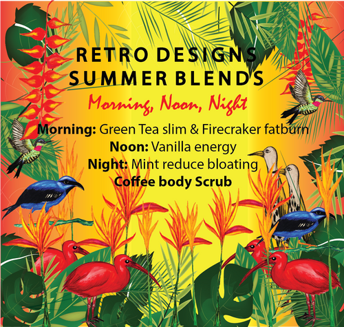 Tea Bird Tea Summer Blends