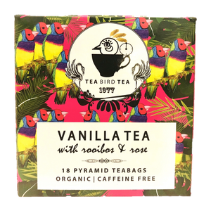 Vanilla Rooibos Organic Tea Bird Tea Cases 12 Tins