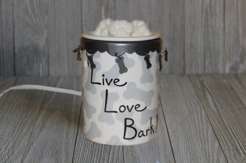 Live, Love, Bark Wax Warmer