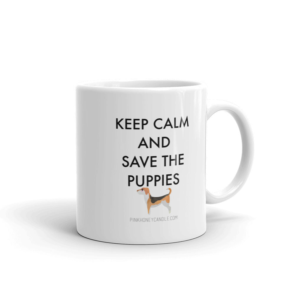 Save the Puppies Mug