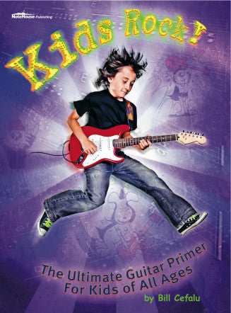 Kid's Rock Guitar Book