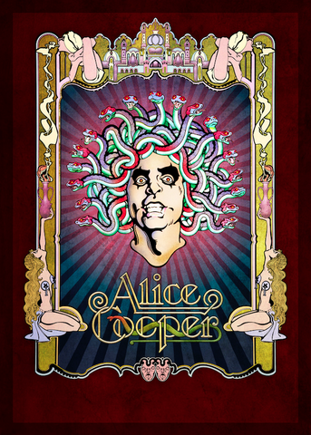 Alice Cooper - Alice At The Palace - Print