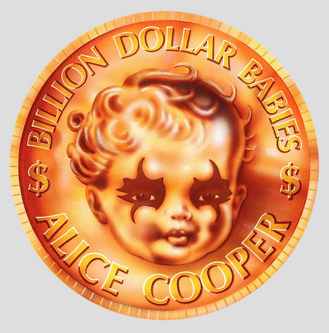 Alice Cooper - Billion Dollar Babies Coin - Print