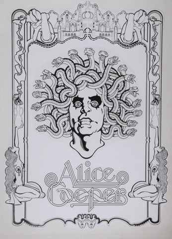 Alice Cooper - Alice At The Palace - Mechanical Line Art