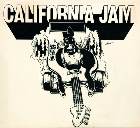 California Jam - Poster Art