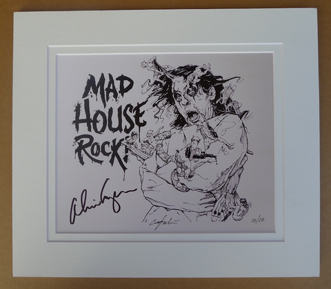 Alice's Mad House Rock - Limited Edition Print