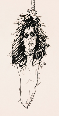 Alice Cooper - Raise Your Fist And Yell - Ad Art