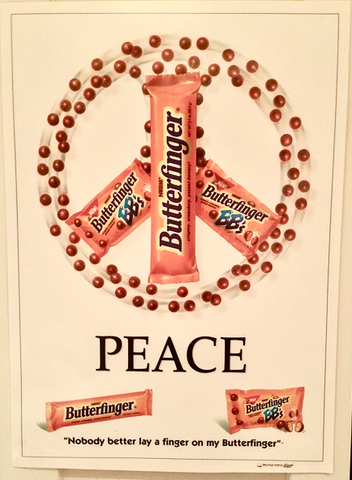 Butterfinger Candy Bar - College Ad Campaign